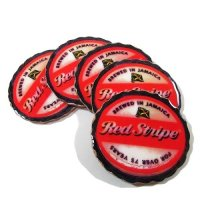 【Jamaica Goods】Red Stripe Coaster(A)