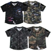 【DUPPIES】CAMOUFLAGE BASEBALL FIELD SCYRTE