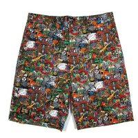 【MURAL】TEN PACES ALL OVER SHORTS / LAST M
