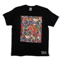 【KINGSIZE】JUNKIE BOX TEE / LAST BLACK L