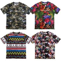 【DUPPIES】TEX TECH TEE / LAST NATIVE BORDER M
