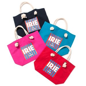 【IRIE by irielife】IRIE BOX LOGO ROPE BAG / LAST BLUE