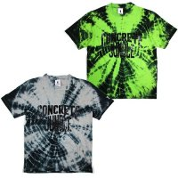 【SPECIAL ONE】CONCRETE JUNGLE TIE-DYE T / LAST HEATHER GRAY L