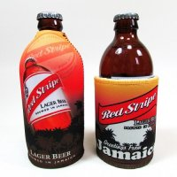 【Jamaica Goods】Red Stripe Koozie