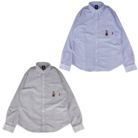 【SPECIAL ONE】RUDE BEAR OX B/D SHIRTS / LAST GRAY M