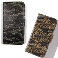 【NINE RULAZ】CHAIN CAMO iPhone CASE / LAST BLACK iPhone5/5s