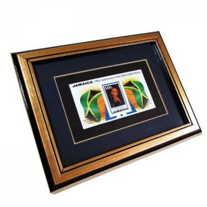 【Jamaica Goods】Frame With Stamp/Bob Marley
