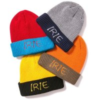 【IRIE by irielife】IRIE 2TONE KIDS KNIT CAP / KIDS / LAST YELLOW
