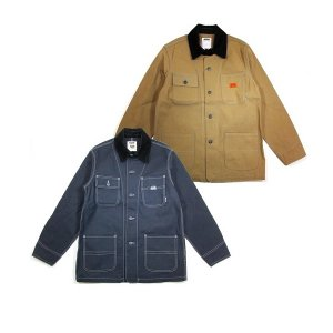 "【DUPPIES】COVERALL JACKET ""BUILDER"" / LAST BEIGE L"