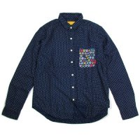 【SPECIAL ONE】FLANNEL DOT LABEL PKT SHIRTS / LAST M
