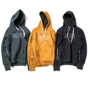 【IRIE LIFE】SIDE ZIP UP HOODIE / LAST NAVY M