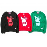 【IRIE by irielife】POW KING KIDS CREW / KIDS / LAST GREEN 130