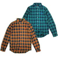 【ANDSUNS】HERITAGE SHIRT / LAST BLUE M