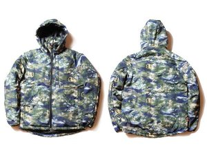 "【DUPPIES】CAMOUFLAGE COTTONPATTED JACKET ""SATELLITE"" / LAST M"