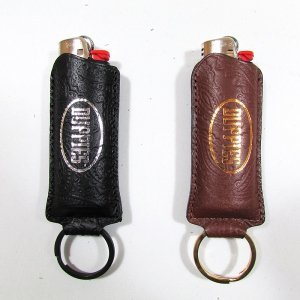 【DUPPIES】LEATHER LIGHTER CASE / LAST BROWN