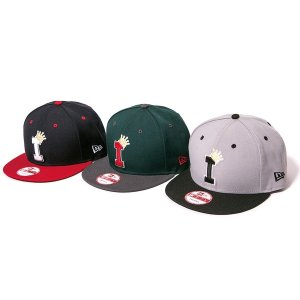 【IRIE by irielife】× NEW ERA LOGO KIDS SNAPBACK CAP/KIDS
