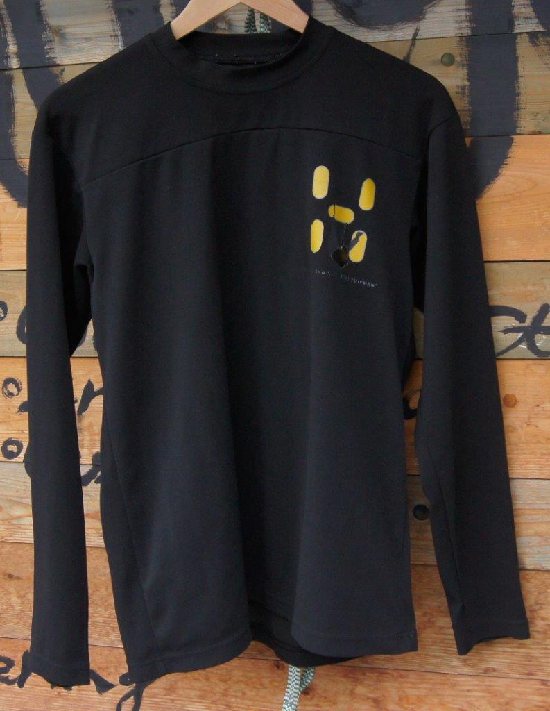 <HAGLOFS ホグロフス> ロゴロングスリーブTシャツ