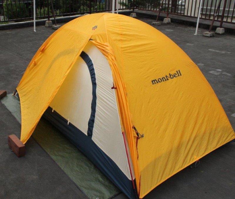 Photo Montbell Monoframe Shelter Diamond Three Season Tent