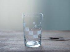 吹きガラスのコップ(モザイク)