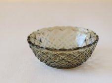 ガラスの小鉢(モスグリーン)