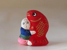 鯛抱き童子(高山人形)