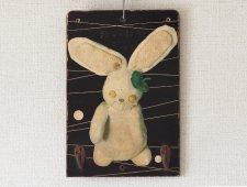 ウサギのフックボード