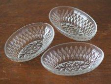 カットガラス皿(Vereco)