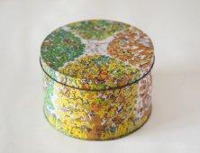 レトロな缶(木々)