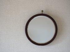 壁掛け丸鏡