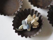 ブリキの菓子型(円形)