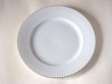 銀縁の大皿