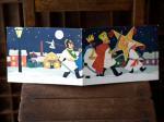 フィンランドのクリスマスカード(星の行進)