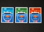 国連切手1974 海の法(3種)