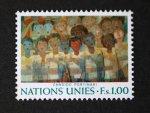 国連切手1974 ブラジルの平和壁画(4種)