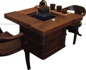 焼桐井型囲炉裏テーブル