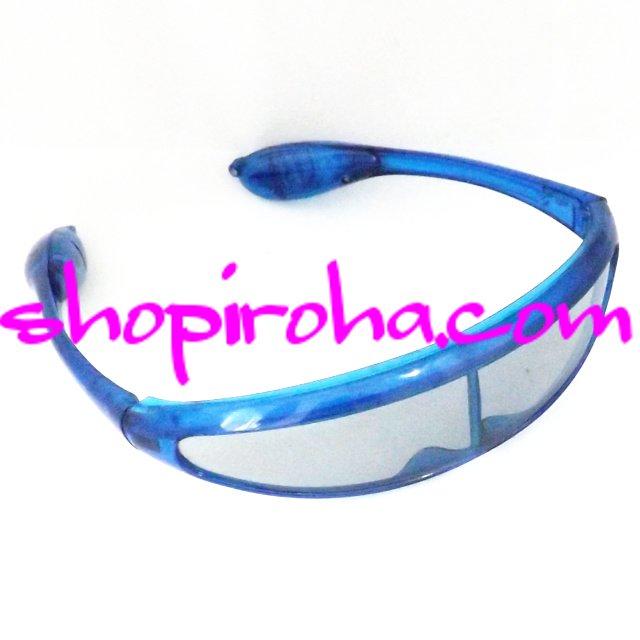 ブループラネット スペースサングラス BLUE PLANET LED サングラス 3jsb     1枚レンズの近未来型デザインのブループラネット スペースサングラス  shopiroha.com 送料無料