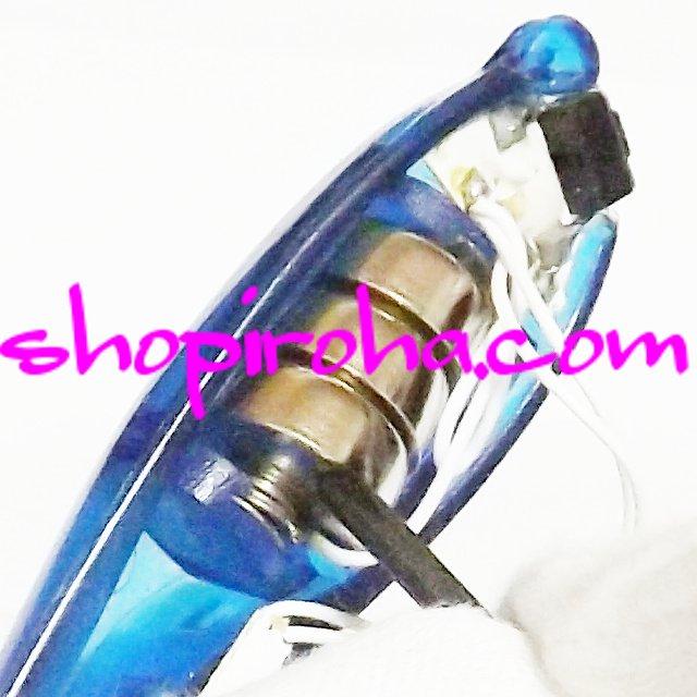 電池交換方法 無料PDF ブループラネット スペースサングラス BLUE PLANET LED 光るサングラス
