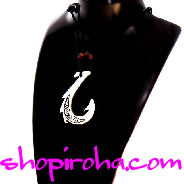 マナイアカラニネックレス Manaiakalani Necklace マウイの釣り針ネックレス 神の釣り針ネックレス shopiroha.com送料無料