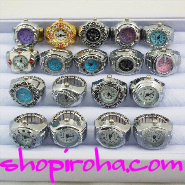指輪時計・指時計・リングウォッチ・リングクロック