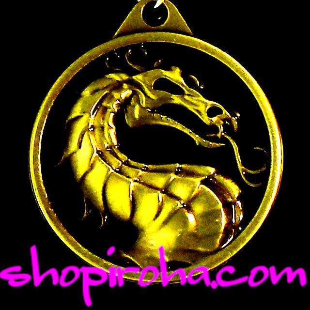 ドラゴンネックレス モータルコンバット リュウ・カン MK モーコン ファン必見 竜のペンダント ドラゴンモチーフのネックレス