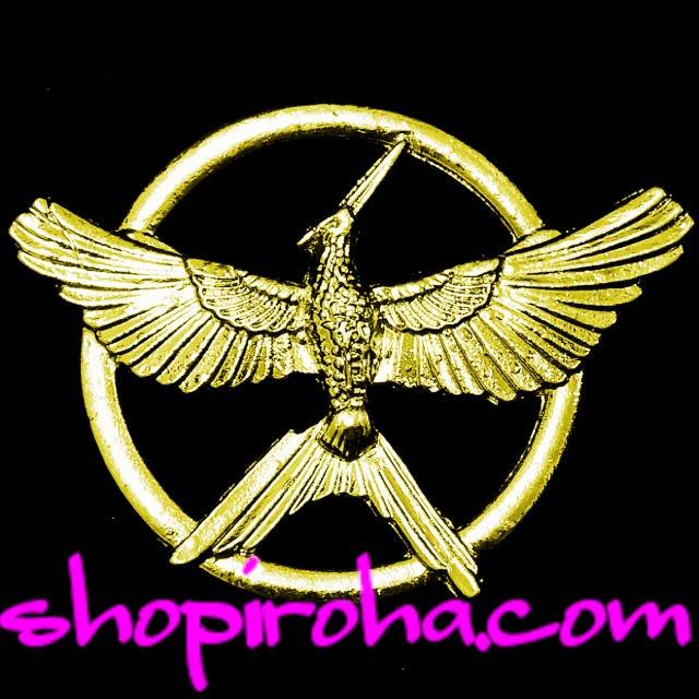 Hunger Gamesハンガーゲーム・ファン必見のブローチ炎の鳥マネシカケスのブローチ shopiroha.com送料無料
