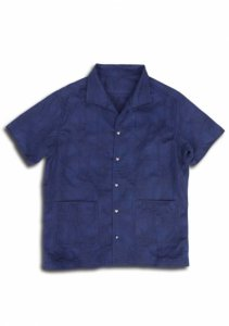 <img class='new_mark_img1' src='//img.shop-pro.jp/img/new/icons14.gif' style='border:none;display:inline;margin:0px;padding:0px;width:auto;' />N Indigo Jacquard Shirt.
