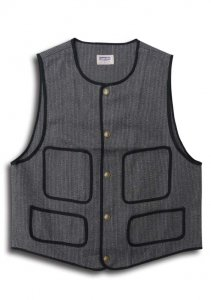 N Cotton Beach Vest.