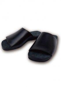 N Leather Sandal.