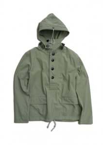 N Navy Hooded Parka.