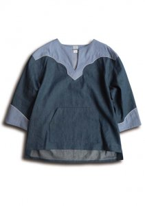 <img class='new_mark_img1' src='//img.shop-pro.jp/img/new/icons14.gif' style='border:none;display:inline;margin:0px;padding:0px;width:auto;' />N Pullover Denim Ranch Shirt.