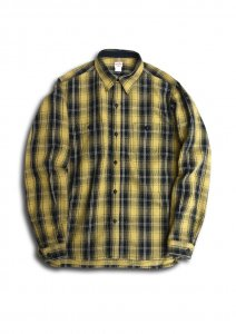 N Herringbone Check Shirt.
