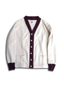 N Cotton Sweat Cardigan.