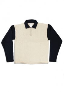 N Motorcycle Knit Shirt.