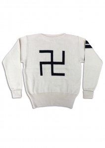 N Swastikas Hockey Knit.